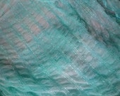 Sheer Pale Sea Green Fabric, Sheer Light Green Netting, Green Mesh Fabric, Seafoam Green Mermaid Fabric, 4 yards