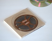 3 DVD/ Triple CD Holder Sleeve/ Home Movie DVD Case Made from Upcycled Materials & Original Photography