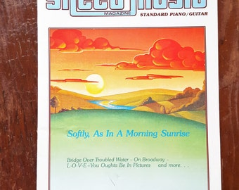 1984 Sheet Music Magazine Softly, As In A Morning Sunrise T2