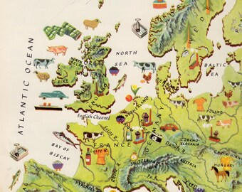 The Golden Geography: A Child's Introduction to the World (A Giant Golden Book) by Elsa Jane Werner, illustrated by Cornelius De Witt