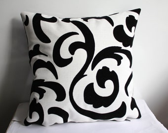 Black and White Pillow Case , Embossed Velvet Pillow Case ,Brown Pillow Case,Floral Pillow Case,Two Sİded Pillow Case
