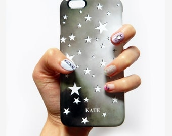 Personalised Stars & Constellation Night sky phone case - For iPhone SE, iPhone 6Plus, iPhone 6s, Samsung Galaxy S7, Samsung Galaxy S6