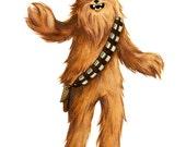 Star Wars - Chewbacca - open edition art print