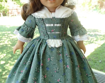 """RESERVED LISTING 18"""" Doll Clothes Colonial Dresses Fits American Girl"""