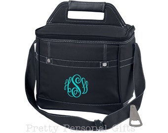 Personalized Cooler Bag, Bridesmaid Cooler, Personalized Cooler, Wedding Party Cooler, Bridal Party Cooler, Monogram Cooler, Wedding Cooler