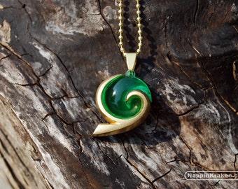Kokiri's Emerald Pendant Legend of Zelda Ocarina of Time
