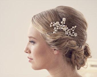 Wedding Hair Accessories Bridal Hair Pins Pearl Hair Pins Wedding Hair Pins Wedding Hair piece Ivory Pearl Hair Pins **P006**