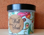 """Christian Scripture Jar, Bible Verses, Religious gift, gift for Christian, Scripture Memory, It is Well with my Soul, - """"Whimsy"""""""