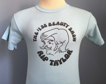 70s Vintage Rip Taylor The 1.98 Beauty Show gay T-Shirt - SMALL