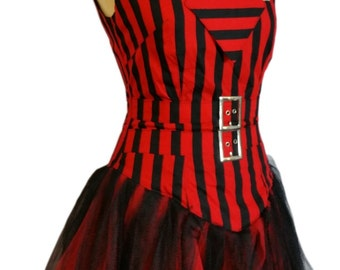 Macabre Gothic Ball Gown Dress Gothic Vampire Burlesque
