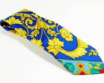 Gianni Versace Couture Silk Tie