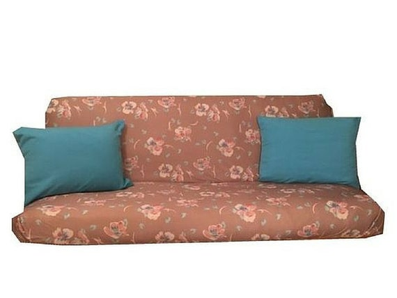 Futon Cover and Pillow Cover Set