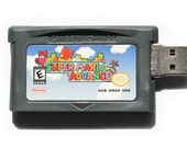 Super Mario Advance Flash Drive Game Cartridge 4GB 8GB 16Gb usb