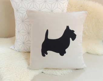 Scottish Terrier Pillow Cover