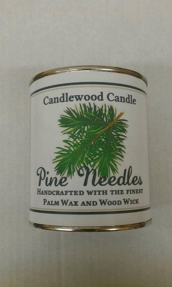 PINE NEEDLES - Genuine Pine Needles Wood Wick Candle - 16 oz.