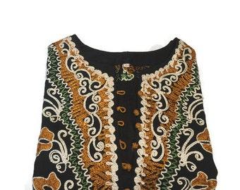 embroidered tunic top, bohemian top, boho tunic, ethnic blouse. tunic blouse. embroidered shirt. ethnic tunic shirt, mini dress