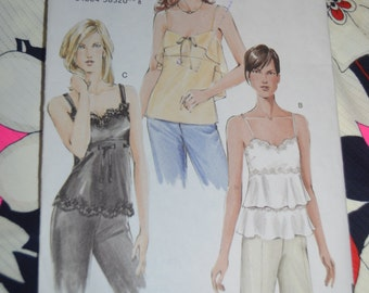 Reserved -> Vogue 7902  Misses Camisole - Sewing Pattern - UNCUT Size 12 14 16