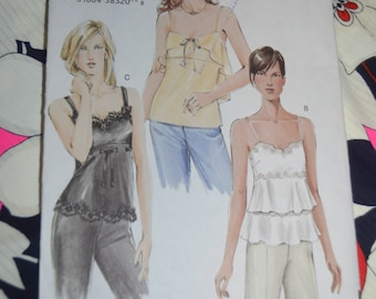 Vogue 7902  Misses Camisole - Sewing Pattern - UNCUT Size 12 14 16