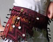 Belt Bag, Hmong Belt Bag, Hmong Bag, Tribal Belt, Belt, Ethnic Belt Bag, Boho Belt Bag, Hippie Belt Bag, Tribal Belt Bag, Gypsy Belt Bag