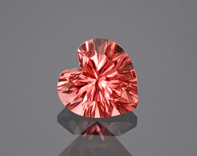 UPRISING SALE! Excellent Concave Pink Heart Tourmaline Gemstone from Afghanistan 1.90 cts.