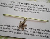 Starfish Wish Bracelet - Choose Your Color