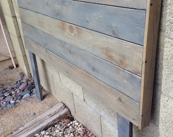 Queen Headboard in gray