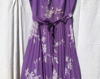 1950s Purple Sundress Naryka Monaco