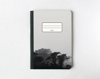 Black Jungle Notebook - Journal - Sketchbook - Blank pages - Lined pages