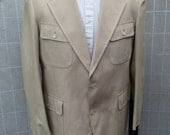 Palm Beach Khaki Safari Suit