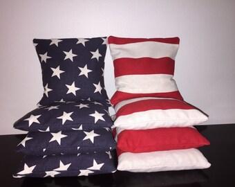 American Cornhole Bags - Set of 8