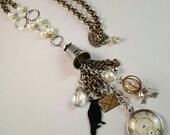 Nevermore Tassel Statement Necklace