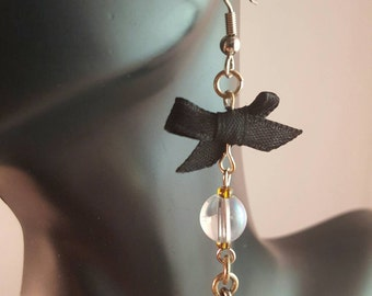 Dangling Southern Belle Hat Earrings