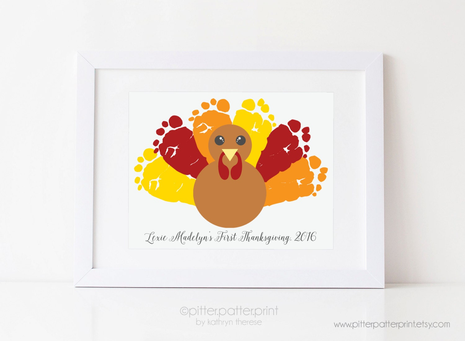 Thanksgiving turkey decor -  Zoom