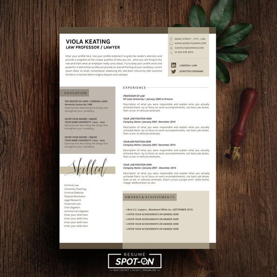 a lasting impression resume  cv design template free cover