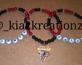 Atlanta Falcons Charm Bracelet Set