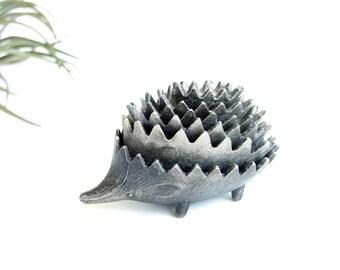 1950s Hedgehog ashtray, Set of 6 Hedgehogs