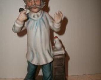 Vintage Porcelain Doctor Physician Figurine