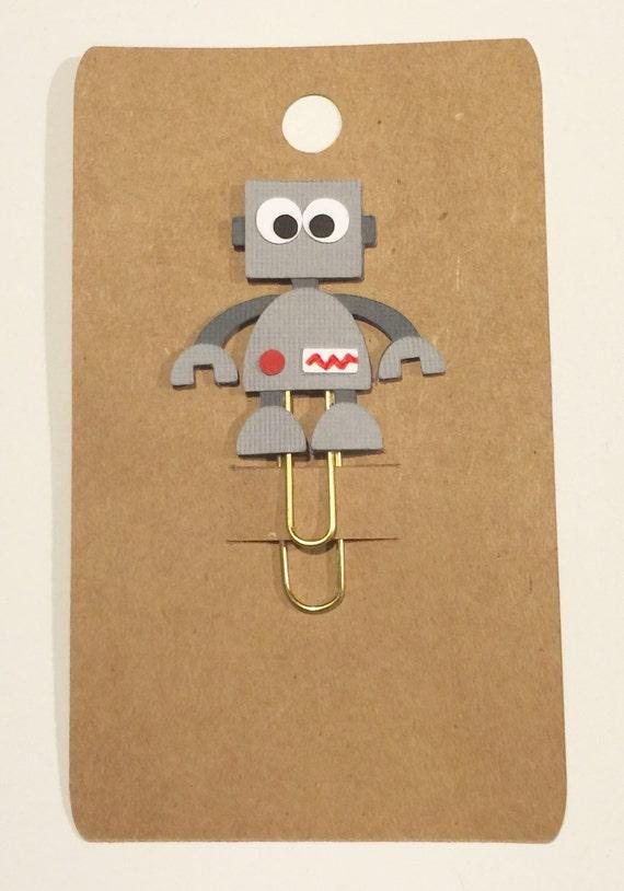 Robot Planner Clip / Paper Clip