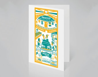 Brixton Village, London card