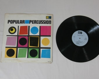 Popular Percussion Vinyl Music Record LP Album LM 2217