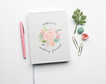 Wedding Note Book Custom Journal Planner