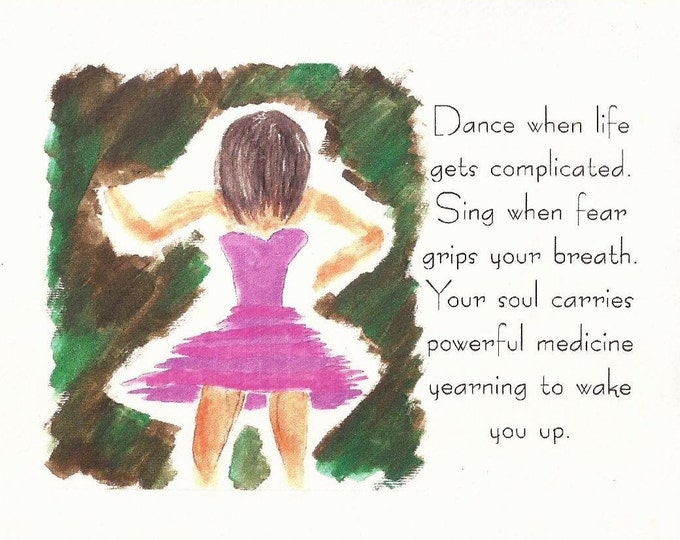 Dance when life gets complicated