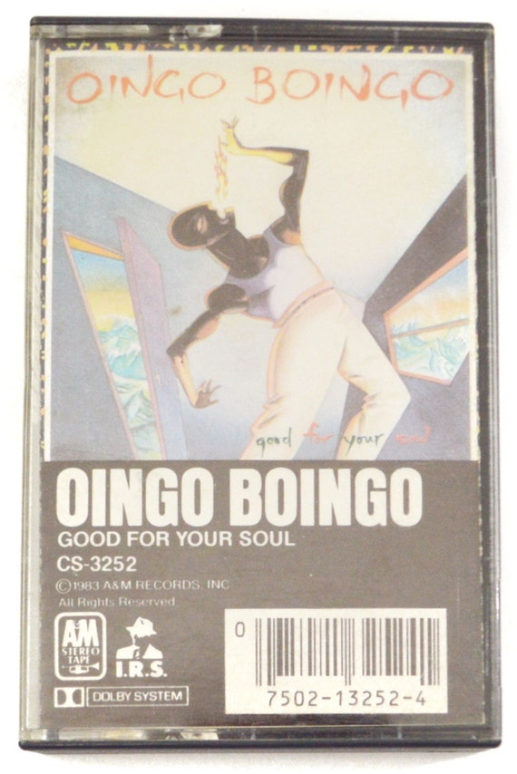 Vintage 80s Oingo Boingo Good For Your Soul Album Cassette Tape