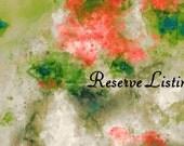Reserve listing for Lilian - Custom cross stitch chart