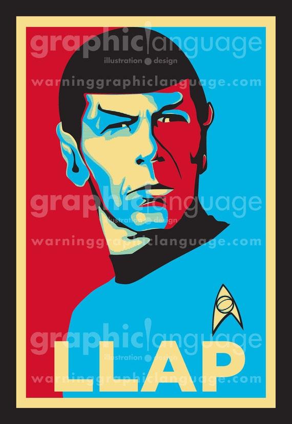 Spock: LLAP (Live Long And Prosper) T-Shirt