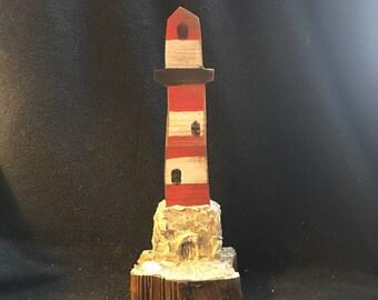 Medium Lighthouse Shelf Sitter