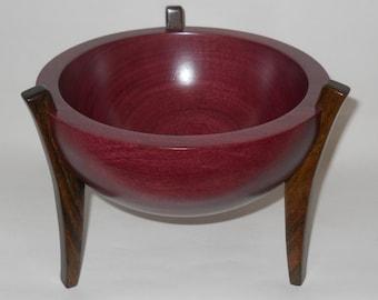 Artistic Three Legged Bowl.