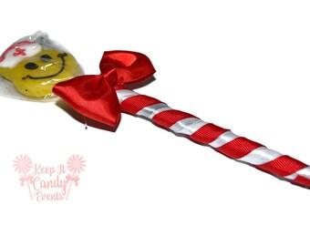 Nurse Lollipen, Lollipop Candy Pen, Get Well Soon, Nurse, Gift, Edible, Lollipop, Pen, Lollipop Pen, Candy Pen, Nurse Pen, Customizable