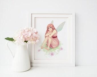 Abricotine Print