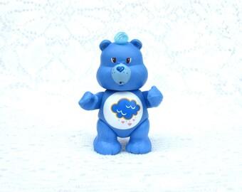 Vintage Care Bears Grumpy Bear Posable Figurine